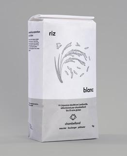 paquet kilo riz blanc