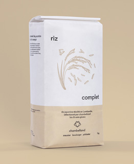 paquet kilo riz complet