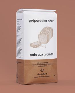 préparation pain aux graines