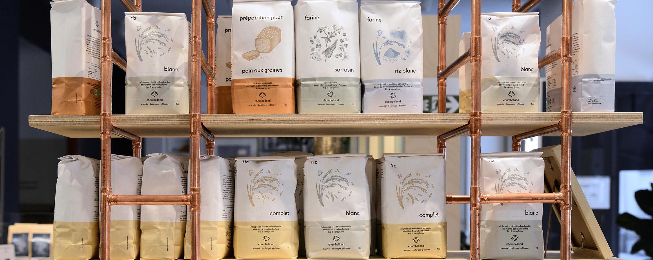 épicerie farine paquet kilo