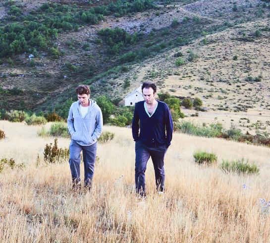 Thomas et Nathaniel vallée du jabron